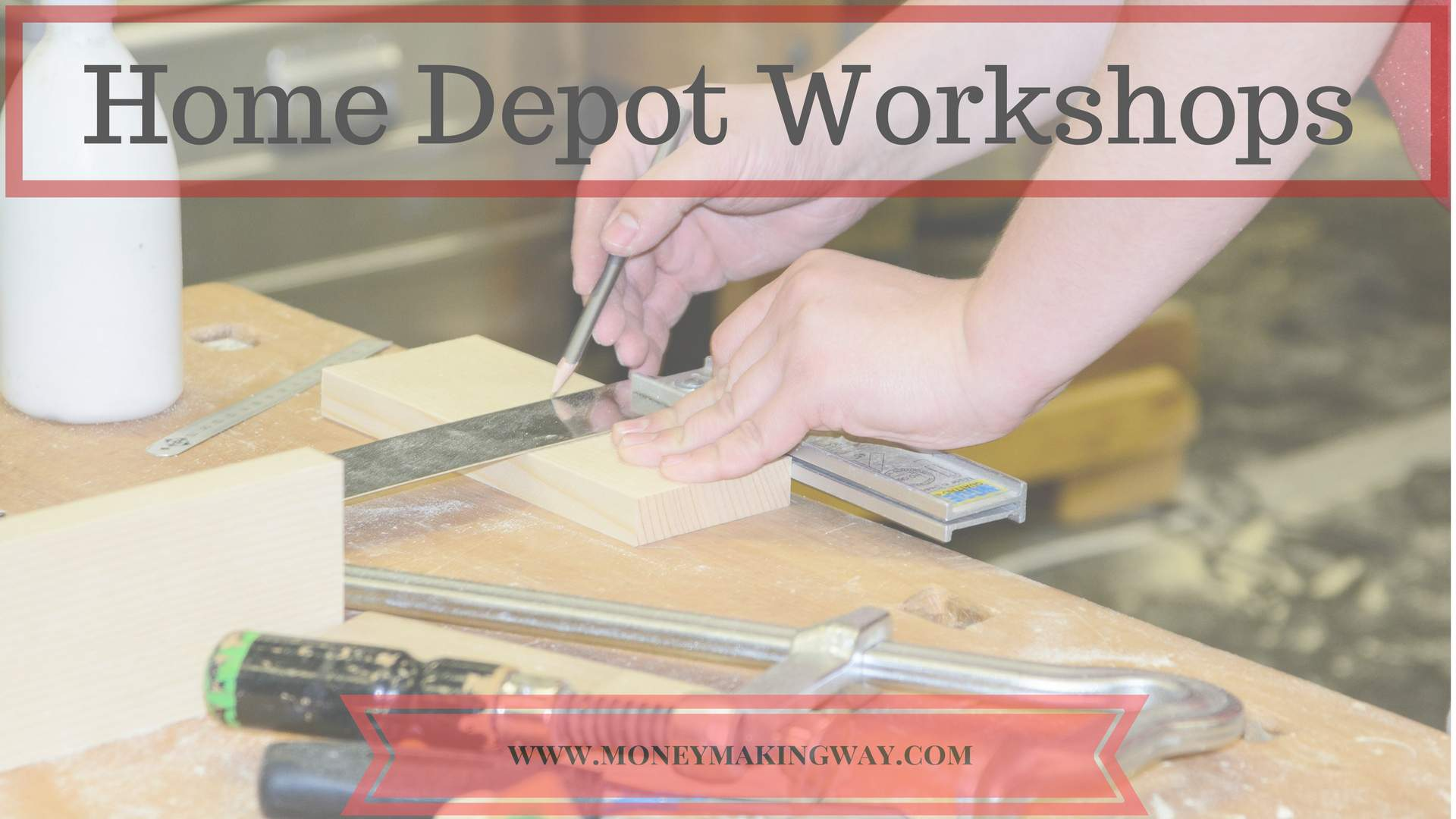 home depot workshops