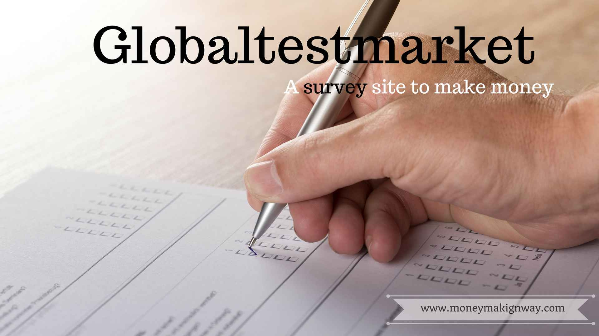 Globaltestmarket: reviews and role in modern marketing research
