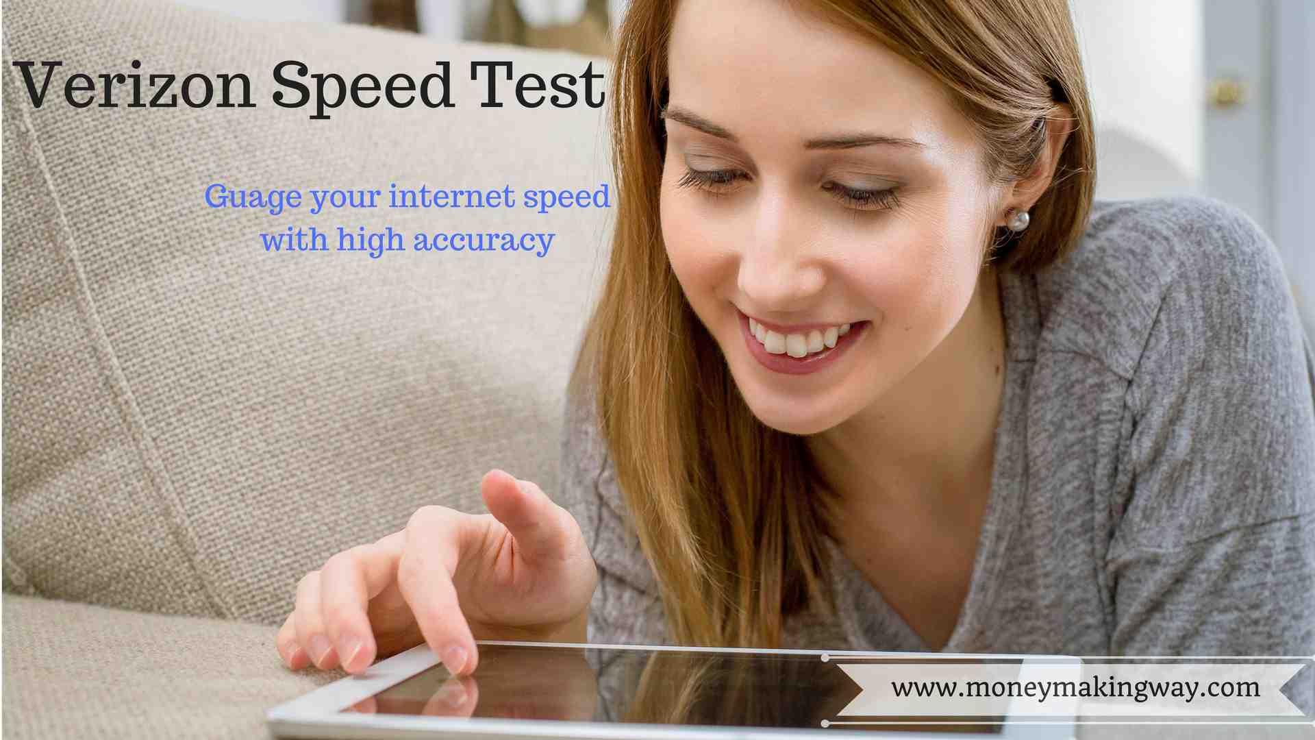 Verizon Speed Test