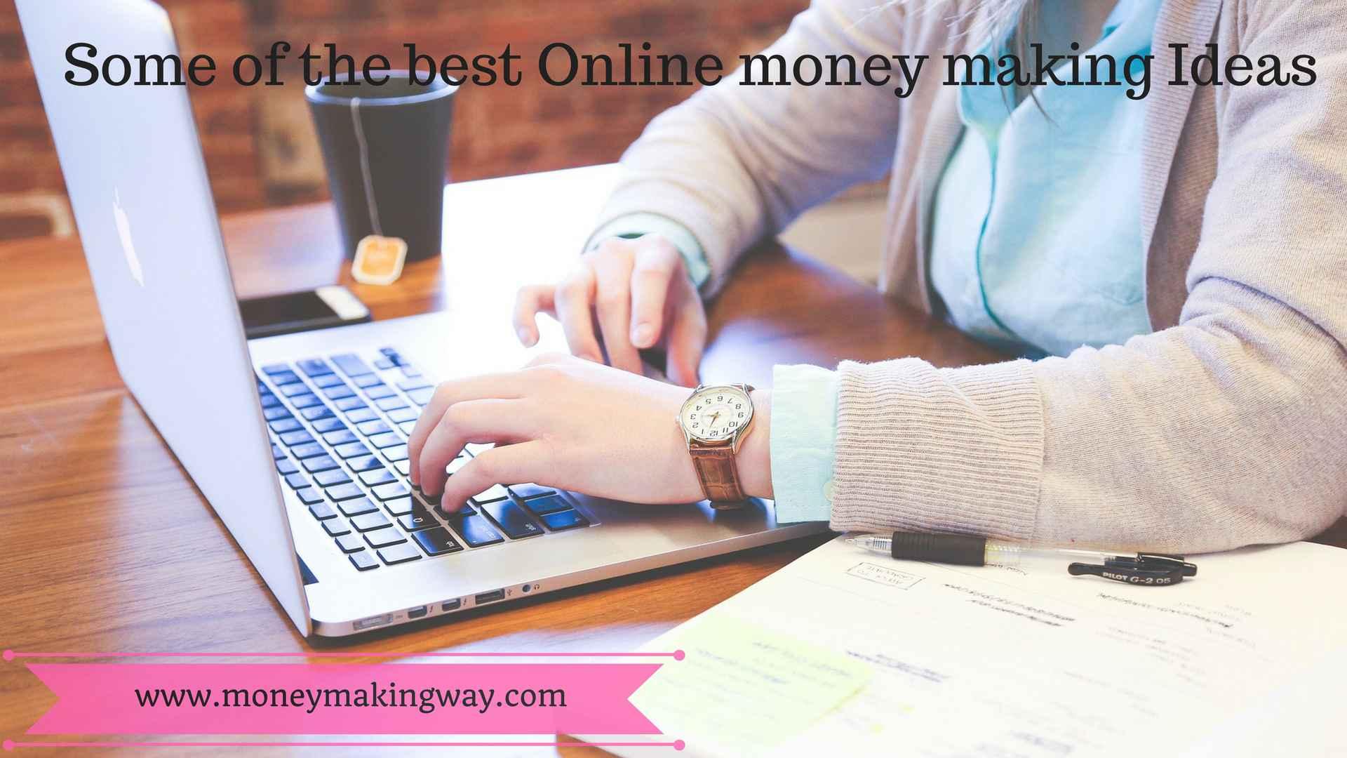 online money making idea