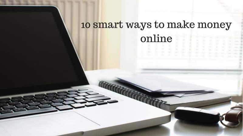 smart ways to make money online