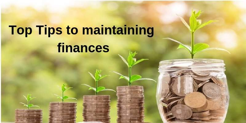 tips to maintaining finance