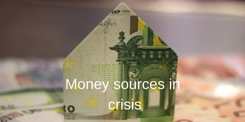 sources of money in crisis